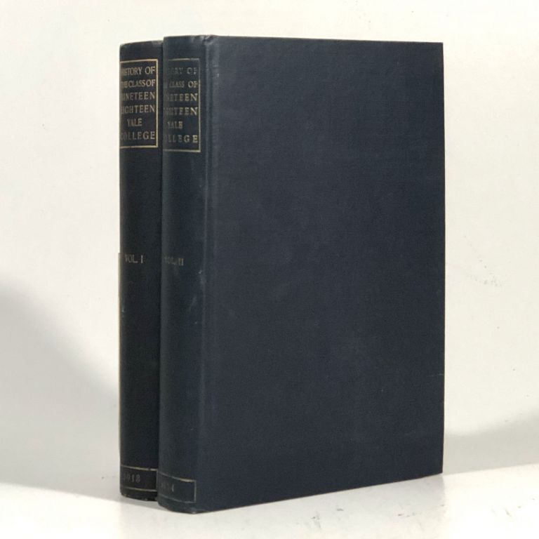 History of the Class of Nineteen Hundred and Eighteen at Yale College. Class book committee, James Gamble Rogers, David E. Bronson, Preface.