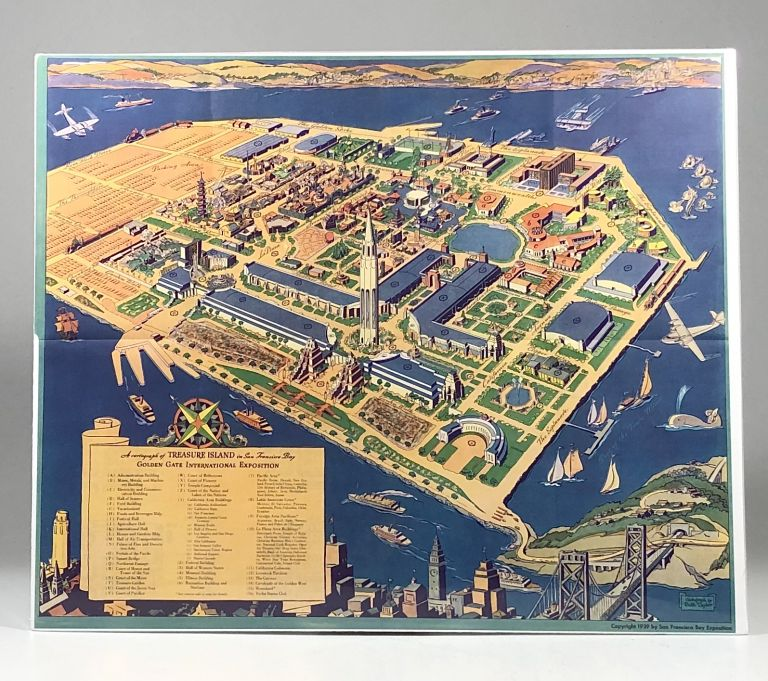 1939 Ruth Taylor (White) Pictorial Map of the Golden Gate International Exposition. Ruth Taylor.