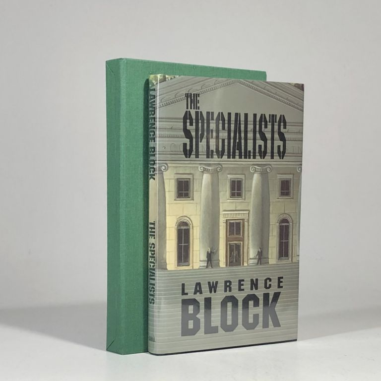 The Specialists (Signed, Limited Edition). Lawrence Block.