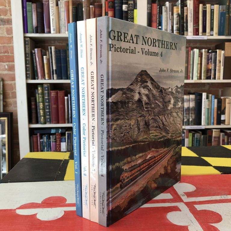Great Northern Color Pictorial. FOUR VOLUMES. Joseph Shine.