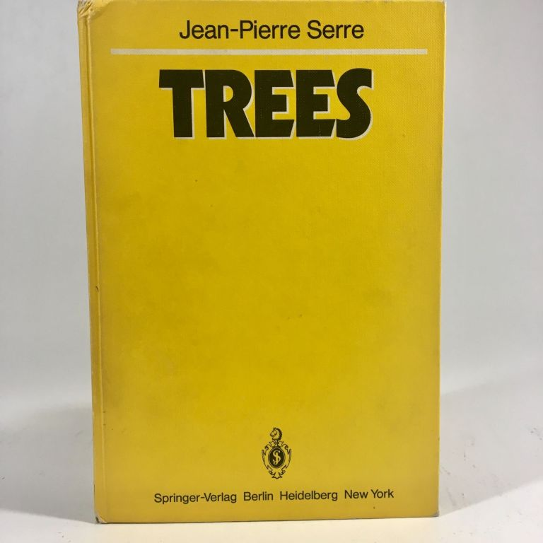 Trees (Springer Monographs in Mathematics). Jean-Pierre Serre, J. Stilwell.