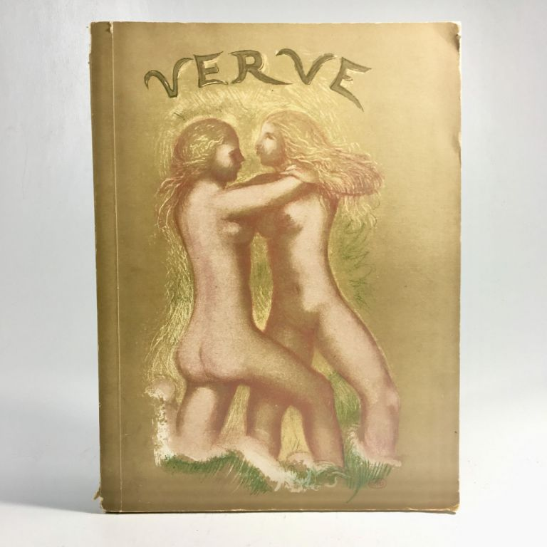 VERVE: The French Art Review. Nos. 5-6, July-October 1939. World's Fair Number. E. Teriade, Verve, director.