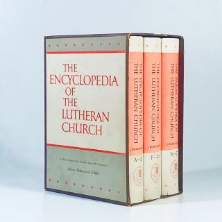 Encyclopedia of the Lutheran Church, 3 Volume Set. Julius H. Bodensieck