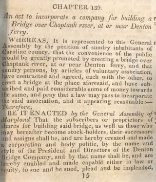 Laws Made and Passed by the General Assembly of the State of Maryland 1811-12