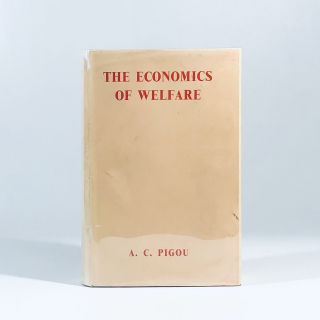 the economics of welfare. a c. pigou