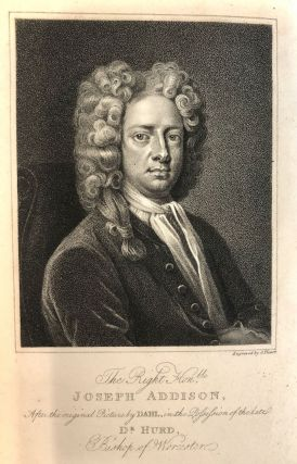 The Works of the Late Right Honorable Joseph Addison, a New Edition with Notes by Richard Hurd, D.D.