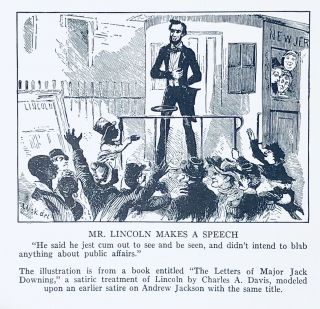 Abraham Lincoln: The Year of His Election (A Cartoon History. Profusely Illustrated with Contemporary Cartoons, Portraits and Scenes)