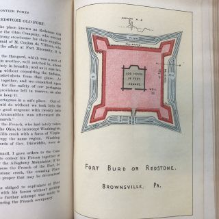 Report of the Commission to Locate the Site of the frontier Forts of Pennsylvania (Two Volumes Complete)