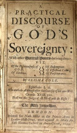 Practical Discourse God's Sovereignty