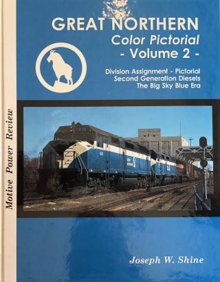 Great Northern Color Pictorial. FOUR VOLUMES