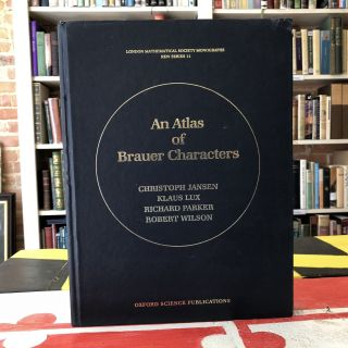 An Atlas of Brauer Characters (London Mathematical Society Monographs). Christopher Jansen, Klaus...